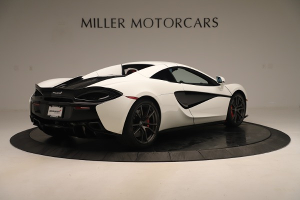 New 2020 McLaren 570S Convertible for sale Sold at Rolls-Royce Motor Cars Greenwich in Greenwich CT 06830 18