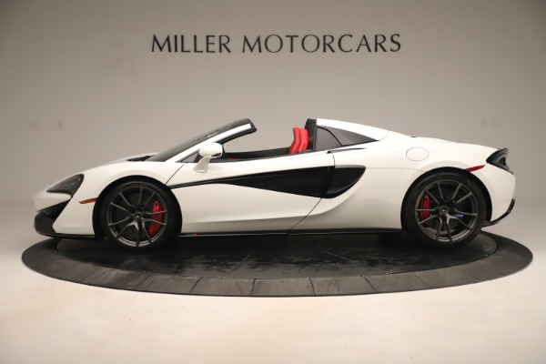 New 2020 McLaren 570S Convertible for sale Sold at Rolls-Royce Motor Cars Greenwich in Greenwich CT 06830 2