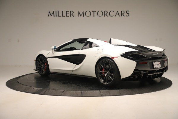 New 2020 McLaren 570S Convertible for sale Sold at Rolls-Royce Motor Cars Greenwich in Greenwich CT 06830 3