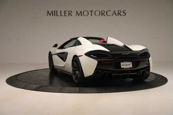 New 2020 McLaren 570S Convertible for sale Sold at Rolls-Royce Motor Cars Greenwich in Greenwich CT 06830 4