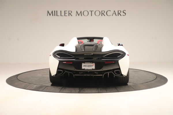 New 2020 McLaren 570S Convertible for sale Sold at Rolls-Royce Motor Cars Greenwich in Greenwich CT 06830 5