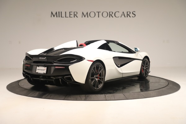 New 2020 McLaren 570S Convertible for sale Sold at Rolls-Royce Motor Cars Greenwich in Greenwich CT 06830 6