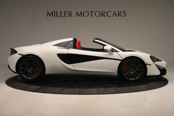 New 2020 McLaren 570S Convertible for sale Sold at Rolls-Royce Motor Cars Greenwich in Greenwich CT 06830 8