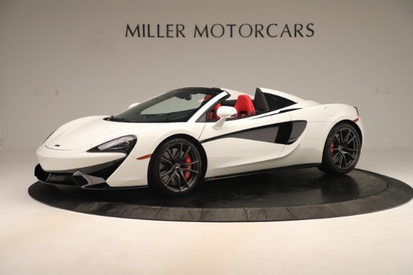 New 2020 McLaren 570S Convertible for sale Sold at Rolls-Royce Motor Cars Greenwich in Greenwich CT 06830 1