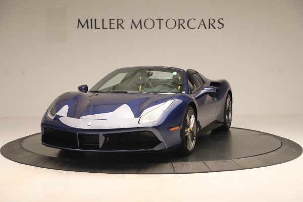 Used 2018 Ferrari 488 Spider for sale Sold at Rolls-Royce Motor Cars Greenwich in Greenwich CT 06830 1