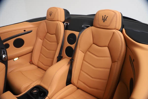 New 2019 Maserati GranTurismo MC Convertible for sale $178,745 at Rolls-Royce Motor Cars Greenwich in Greenwich CT 06830 24