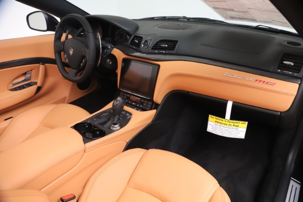 New 2019 Maserati GranTurismo MC Convertible for sale $178,745 at Rolls-Royce Motor Cars Greenwich in Greenwich CT 06830 26