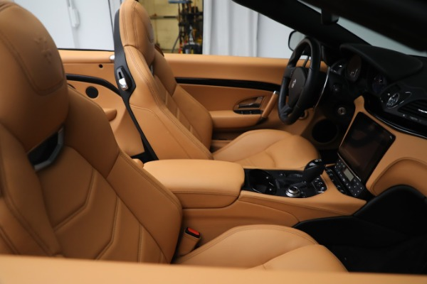 New 2019 Maserati GranTurismo Sport Convertible for sale Sold at Rolls-Royce Motor Cars Greenwich in Greenwich CT 06830 21