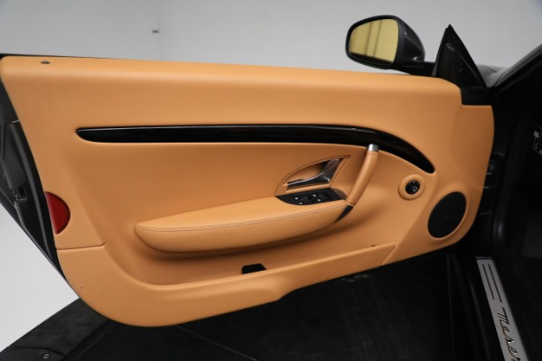 New 2019 Maserati GranTurismo Sport Convertible for sale Sold at Rolls-Royce Motor Cars Greenwich in Greenwich CT 06830 25