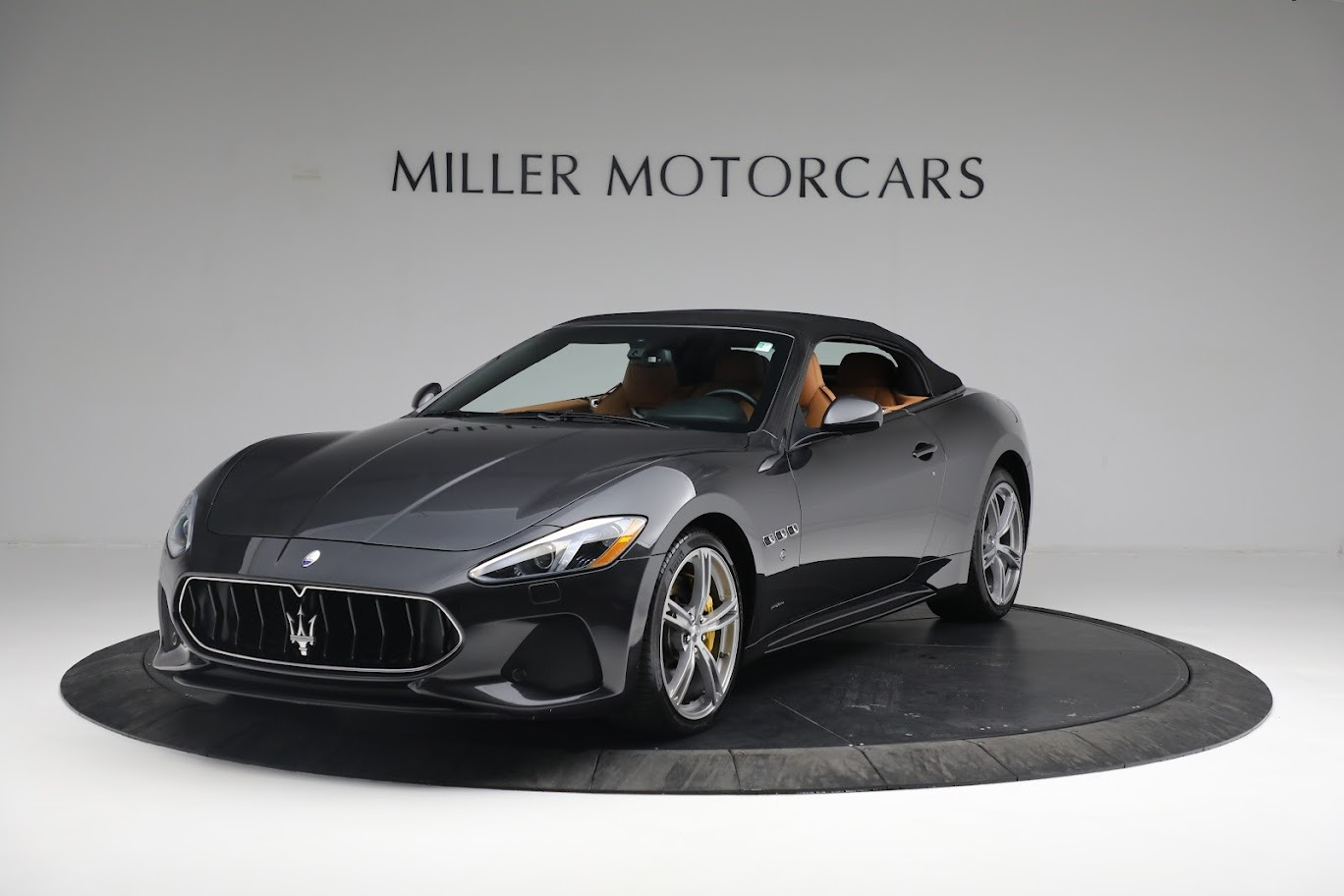 New 2019 Maserati GranTurismo Sport Convertible for sale Sold at Rolls-Royce Motor Cars Greenwich in Greenwich CT 06830 1