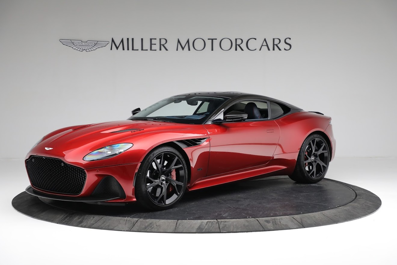 Used 2019 Aston Martin DBS Superleggera for sale $259,900 at Rolls-Royce Motor Cars Greenwich in Greenwich CT 06830 1
