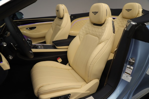 Used 2020 Bentley Continental GTC V8 for sale $288,020 at Rolls-Royce Motor Cars Greenwich in Greenwich CT 06830 24