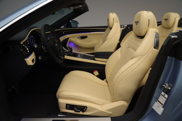 New 2020 Bentley Continental GTC V8 for sale Sold at Rolls-Royce Motor Cars Greenwich in Greenwich CT 06830 25