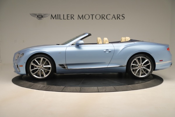 New 2020 Bentley Continental GTC V8 for sale Sold at Rolls-Royce Motor Cars Greenwich in Greenwich CT 06830 3