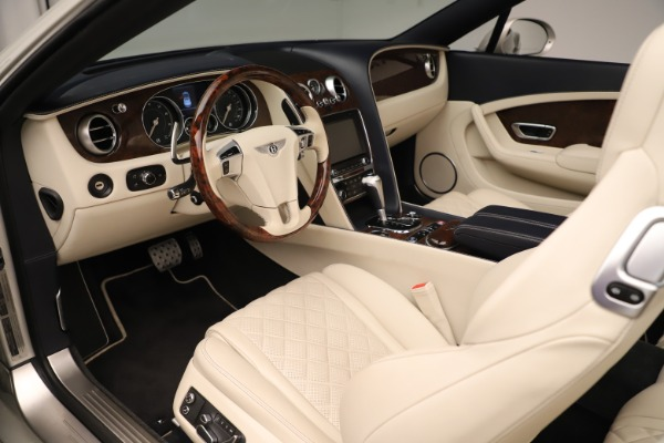 Used 2016 Bentley Continental GTC W12 for sale Sold at Rolls-Royce Motor Cars Greenwich in Greenwich CT 06830 23