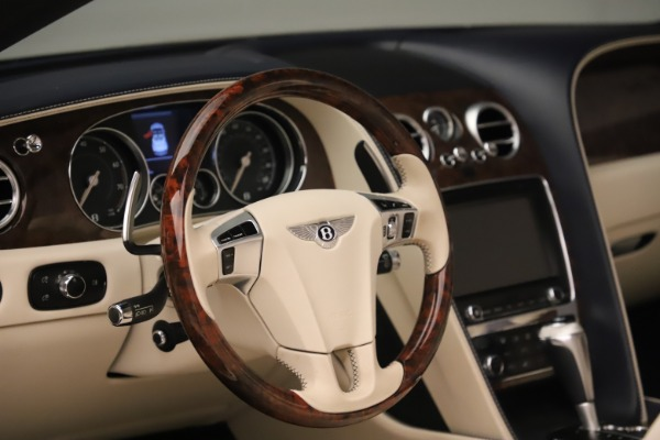 Used 2016 Bentley Continental GTC W12 for sale Sold at Rolls-Royce Motor Cars Greenwich in Greenwich CT 06830 27