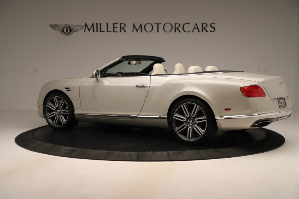 Used 2016 Bentley Continental GTC W12 for sale Sold at Rolls-Royce Motor Cars Greenwich in Greenwich CT 06830 4