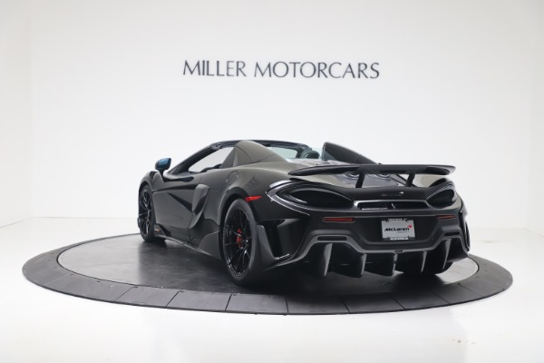 Used 2020 McLaren 600LT Spider for sale $249,900 at Rolls-Royce Motor Cars Greenwich in Greenwich CT 06830 10