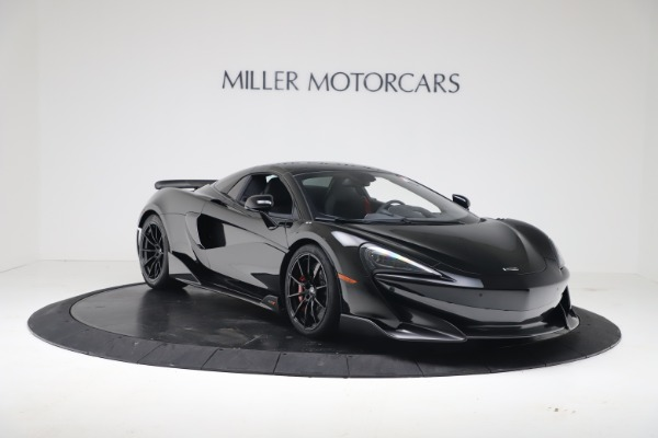 New 2020 McLaren 600LT SPIDER Convertible for sale Sold at Rolls-Royce Motor Cars Greenwich in Greenwich CT 06830 16