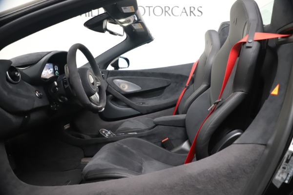 New 2020 McLaren 600LT SPIDER Convertible for sale Sold at Rolls-Royce Motor Cars Greenwich in Greenwich CT 06830 19