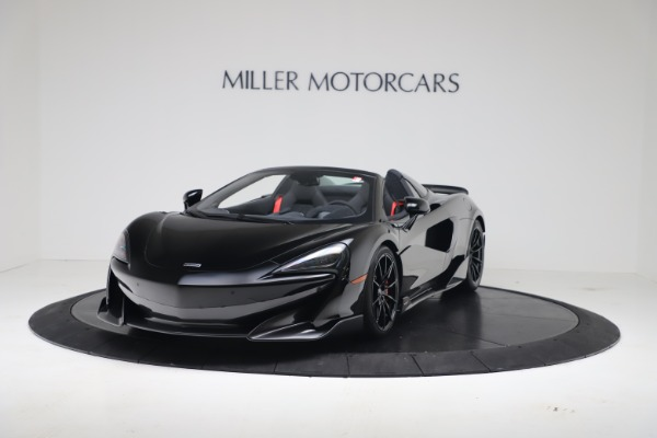 Used 2020 McLaren 600LT Spider for sale $249,900 at Rolls-Royce Motor Cars Greenwich in Greenwich CT 06830 2