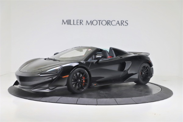 Used 2020 McLaren 600LT Spider for sale $249,900 at Rolls-Royce Motor Cars Greenwich in Greenwich CT 06830 1