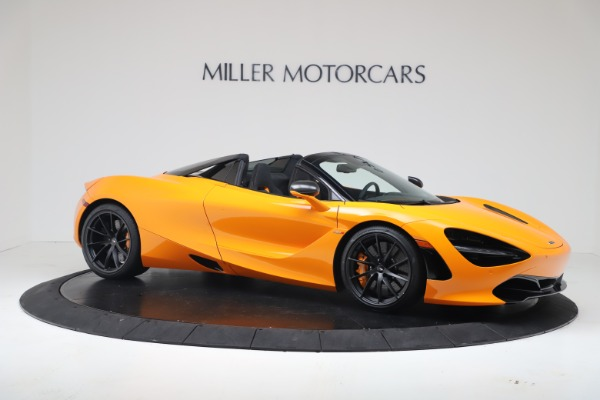 New 2020 McLaren 720S Spider Convertible for sale $374,440 at Rolls-Royce Motor Cars Greenwich in Greenwich CT 06830 10