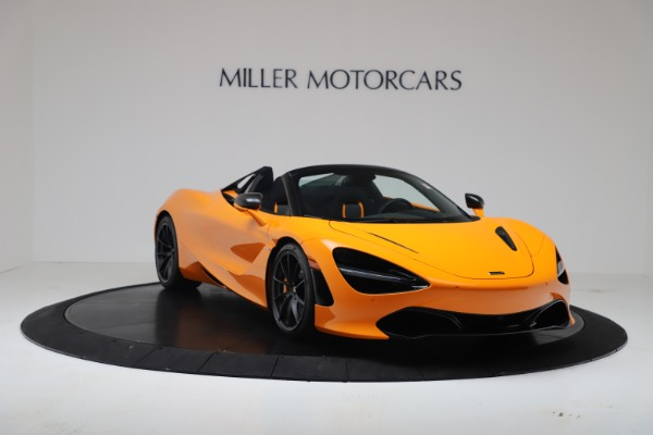 New 2020 McLaren 720S Spider Convertible for sale $374,440 at Rolls-Royce Motor Cars Greenwich in Greenwich CT 06830 11