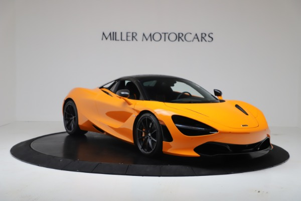 New 2020 McLaren 720S Spider Convertible for sale $374,440 at Rolls-Royce Motor Cars Greenwich in Greenwich CT 06830 14