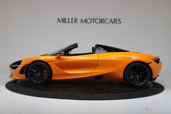 New 2020 McLaren 720S Spider Convertible for sale $374,440 at Rolls-Royce Motor Cars Greenwich in Greenwich CT 06830 3