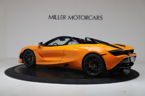 New 2020 McLaren 720S Spider Convertible for sale $374,440 at Rolls-Royce Motor Cars Greenwich in Greenwich CT 06830 4