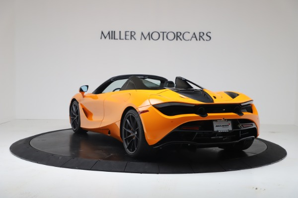 New 2020 McLaren 720S Spider Convertible for sale $374,440 at Rolls-Royce Motor Cars Greenwich in Greenwich CT 06830 5