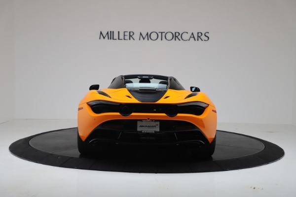 New 2020 McLaren 720S Spider Convertible for sale $374,440 at Rolls-Royce Motor Cars Greenwich in Greenwich CT 06830 6