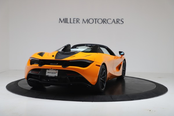 New 2020 McLaren 720S Spider Convertible for sale $374,440 at Rolls-Royce Motor Cars Greenwich in Greenwich CT 06830 7