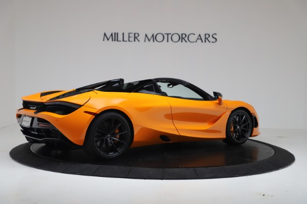 New 2020 McLaren 720S Spider Convertible for sale $374,440 at Rolls-Royce Motor Cars Greenwich in Greenwich CT 06830 8