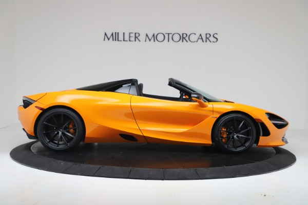 New 2020 McLaren 720S Spider Convertible for sale $374,440 at Rolls-Royce Motor Cars Greenwich in Greenwich CT 06830 9