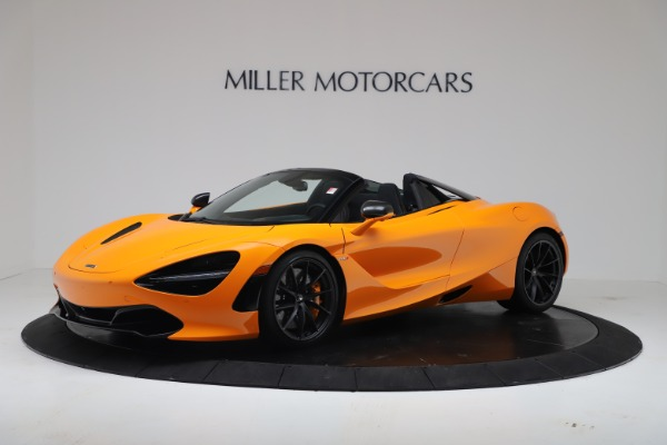 New 2020 McLaren 720S Spider Convertible for sale $374,440 at Rolls-Royce Motor Cars Greenwich in Greenwich CT 06830 1