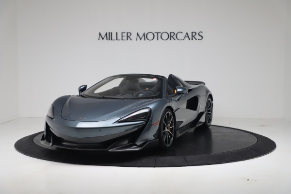 New 2020 McLaren 600LT SPIDER Convertible for sale Sold at Rolls-Royce Motor Cars Greenwich in Greenwich CT 06830 2