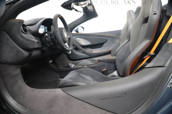 New 2020 McLaren 600LT SPIDER Convertible for sale Sold at Rolls-Royce Motor Cars Greenwich in Greenwich CT 06830 24