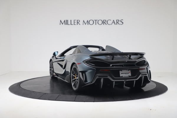 New 2020 McLaren 600LT SPIDER Convertible for sale Sold at Rolls-Royce Motor Cars Greenwich in Greenwich CT 06830 4