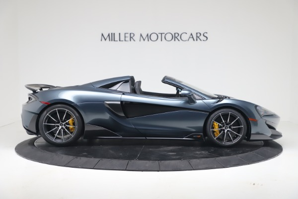 New 2020 McLaren 600LT SPIDER Convertible for sale Sold at Rolls-Royce Motor Cars Greenwich in Greenwich CT 06830 8
