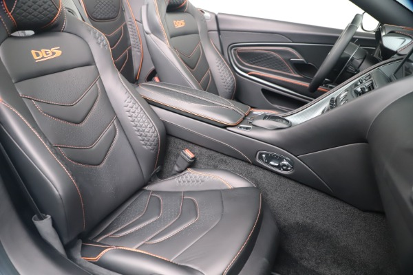 New 2020 Aston Martin DBS Superleggera Volante Convertible for sale Sold at Rolls-Royce Motor Cars Greenwich in Greenwich CT 06830 23