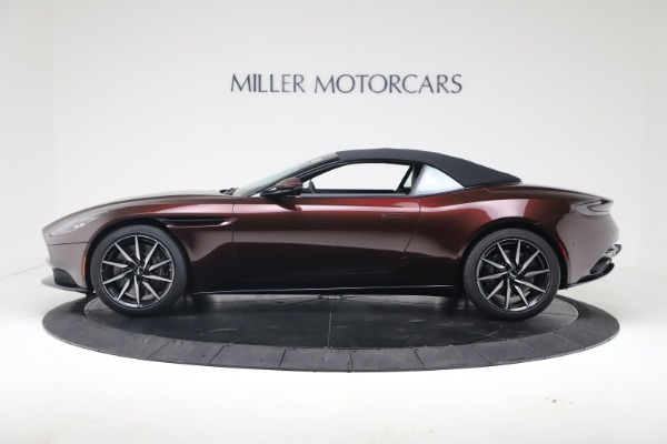Used 2020 Aston Martin DB11 Volante Convertible for sale Sold at Rolls-Royce Motor Cars Greenwich in Greenwich CT 06830 14