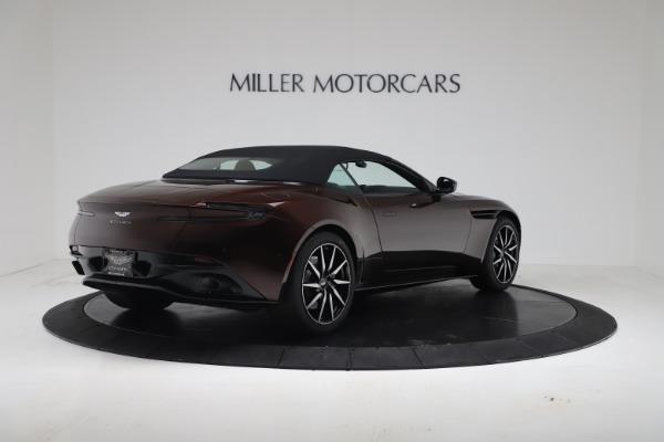 Used 2020 Aston Martin DB11 Volante Convertible for sale Sold at Rolls-Royce Motor Cars Greenwich in Greenwich CT 06830 16