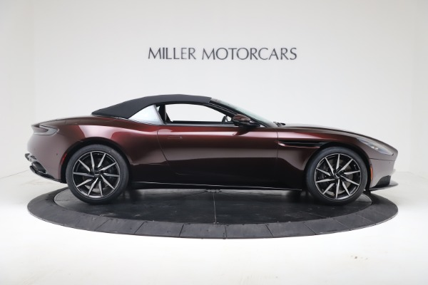 Used 2020 Aston Martin DB11 Volante Convertible for sale Sold at Rolls-Royce Motor Cars Greenwich in Greenwich CT 06830 17