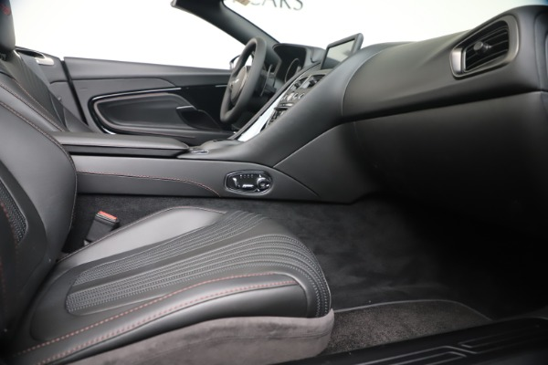 Used 2020 Aston Martin DB11 Volante Convertible for sale Sold at Rolls-Royce Motor Cars Greenwich in Greenwich CT 06830 28