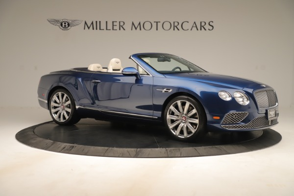 Used 2017 Bentley Continental GTC V8 for sale $149,900 at Rolls-Royce Motor Cars Greenwich in Greenwich CT 06830 10