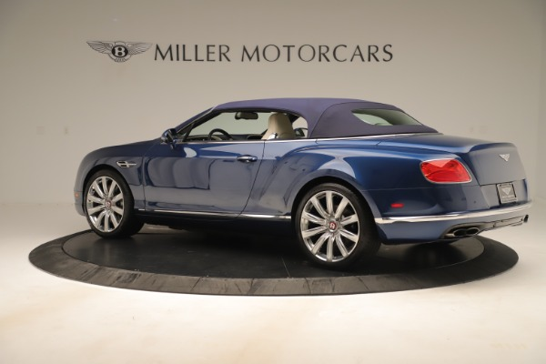 Used 2017 Bentley Continental GTC V8 for sale Sold at Rolls-Royce Motor Cars Greenwich in Greenwich CT 06830 15