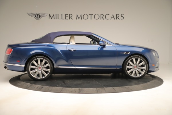 Used 2017 Bentley Continental GTC V8 for sale Sold at Rolls-Royce Motor Cars Greenwich in Greenwich CT 06830 17