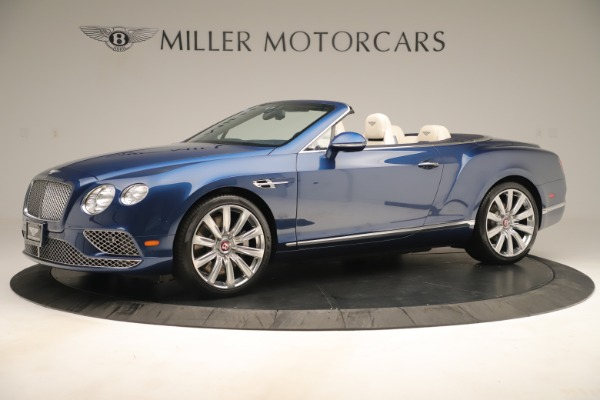 Used 2017 Bentley Continental GTC V8 for sale $149,900 at Rolls-Royce Motor Cars Greenwich in Greenwich CT 06830 2
